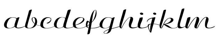 Clarinda-ExtraexpandedRegular Font LOWERCASE