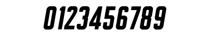 Clarke Black Italic Font OTHER CHARS