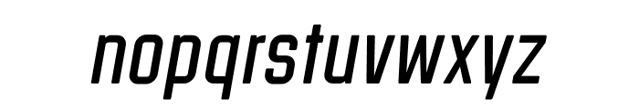 Clarke Regular Italic Font LOWERCASE