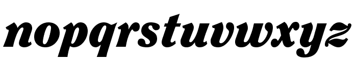 ClearfaceStd-BlackItalic Font LOWERCASE