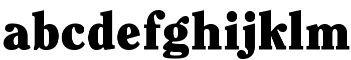 ClearfaceStd-Black Font LOWERCASE