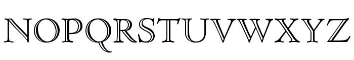 CloisterStd-OpenFace Font UPPERCASE