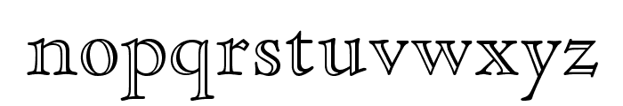 CloisterStd-OpenFace Font LOWERCASE