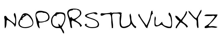 Clyde Regular Font UPPERCASE