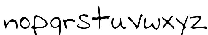 Clyde Regular Font LOWERCASE