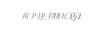 Claudette OTF Font UPPERCASE