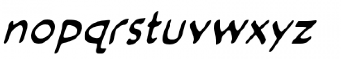 Cloudsplitter BB Lower Case Italic Font LOWERCASE