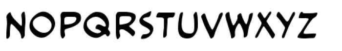 Cloudsplitter BB Upper Case Font LOWERCASE