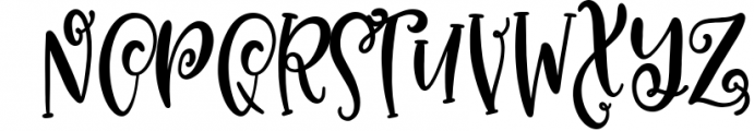 CLN - Magical Unicorn - A Hand Lettered Duo With Extras Font LOWERCASE