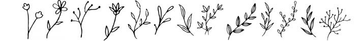 Clarisha Font Duo 2 Font UPPERCASE