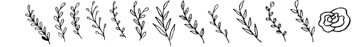 Clarisha Font Duo 2 Font LOWERCASE