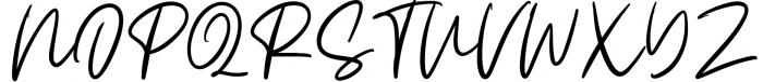 Claude Handwritten Font Font UPPERCASE