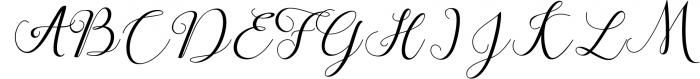 Claudia Script 1 Font UPPERCASE