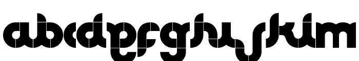 CLUB Font LOWERCASE