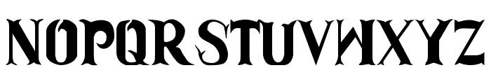 Clam-Dip Font LOWERCASE