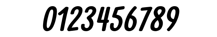 Clambake October Six Bold Italic Font OTHER CHARS