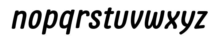 Clambake October Six Bold Italic Font LOWERCASE