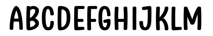 Clambake October Six Bold Font UPPERCASE