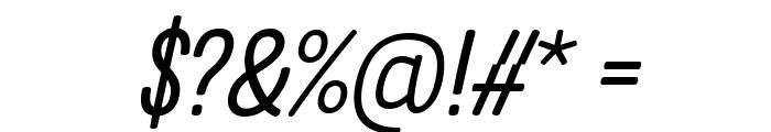 Clambake October Six Italic Font OTHER CHARS