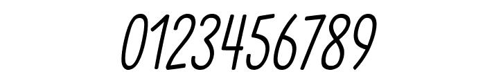 Clambake October Six Light Italic Font OTHER CHARS