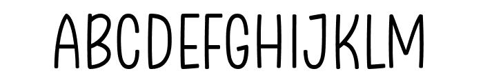 Clambake October Six Light Font UPPERCASE