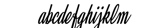 Clarice Italic Personal Use Font LOWERCASE
