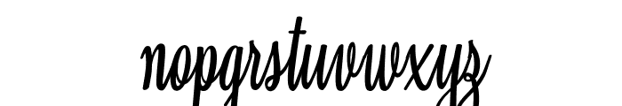 Clarice Personal Use Font LOWERCASE