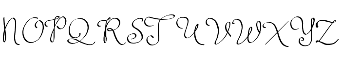 ClarissaPersonalUse Font UPPERCASE