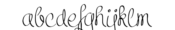 ClarissaPersonalUse Font LOWERCASE