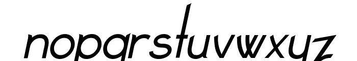 Claritty_Italic Font LOWERCASE