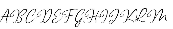 Clarity free Font UPPERCASE