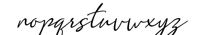 Clarity free Font LOWERCASE