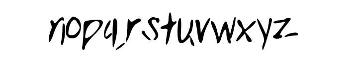 Clarity Font LOWERCASE