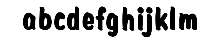 ClarkOpti-Black Font LOWERCASE