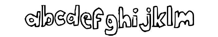 ClassProjectNBP Font LOWERCASE