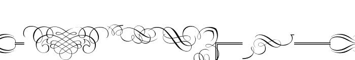 Classic Decor Font UPPERCASE