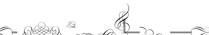 Classic Decor Font LOWERCASE