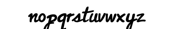Classic Raw Font LOWERCASE