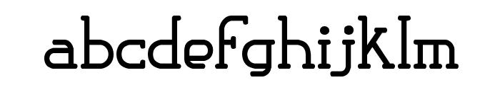 Classic Trash 1 BRK Font LOWERCASE