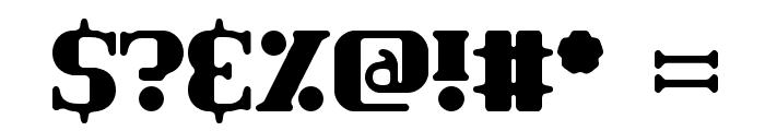 Classic Trash 2 BRK Font OTHER CHARS