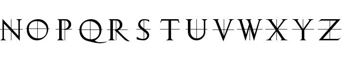 ClassicRomanCaps Font UPPERCASE