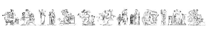 ClassicSketches Font UPPERCASE