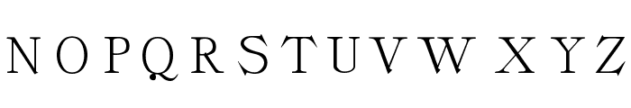 Classica-Roman Regular Font UPPERCASE