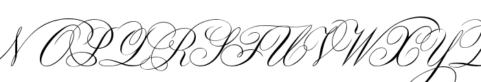 Classica Two Font UPPERCASE
