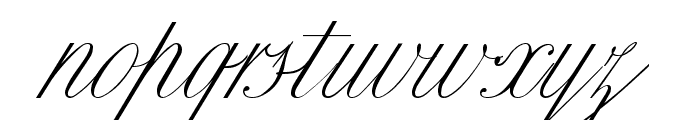 Classica Two Font LOWERCASE