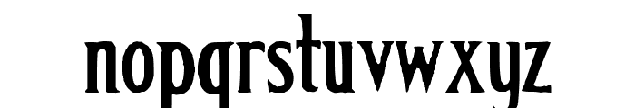 Classic Font LOWERCASE