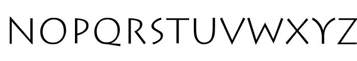 Classica Font UPPERCASE