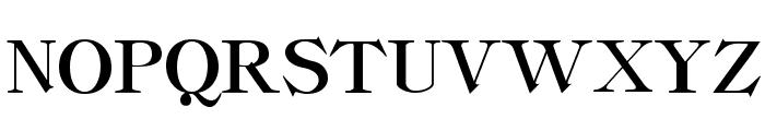 ClassicaHeavy Regular Font UPPERCASE