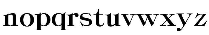 ClassicaHeavy Regular Font LOWERCASE