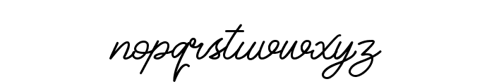 Classical Font LOWERCASE